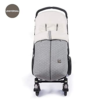 Walking Mum - Saco de invierno gaby para silla de paseo universal gris: Amazon.es: Bebé