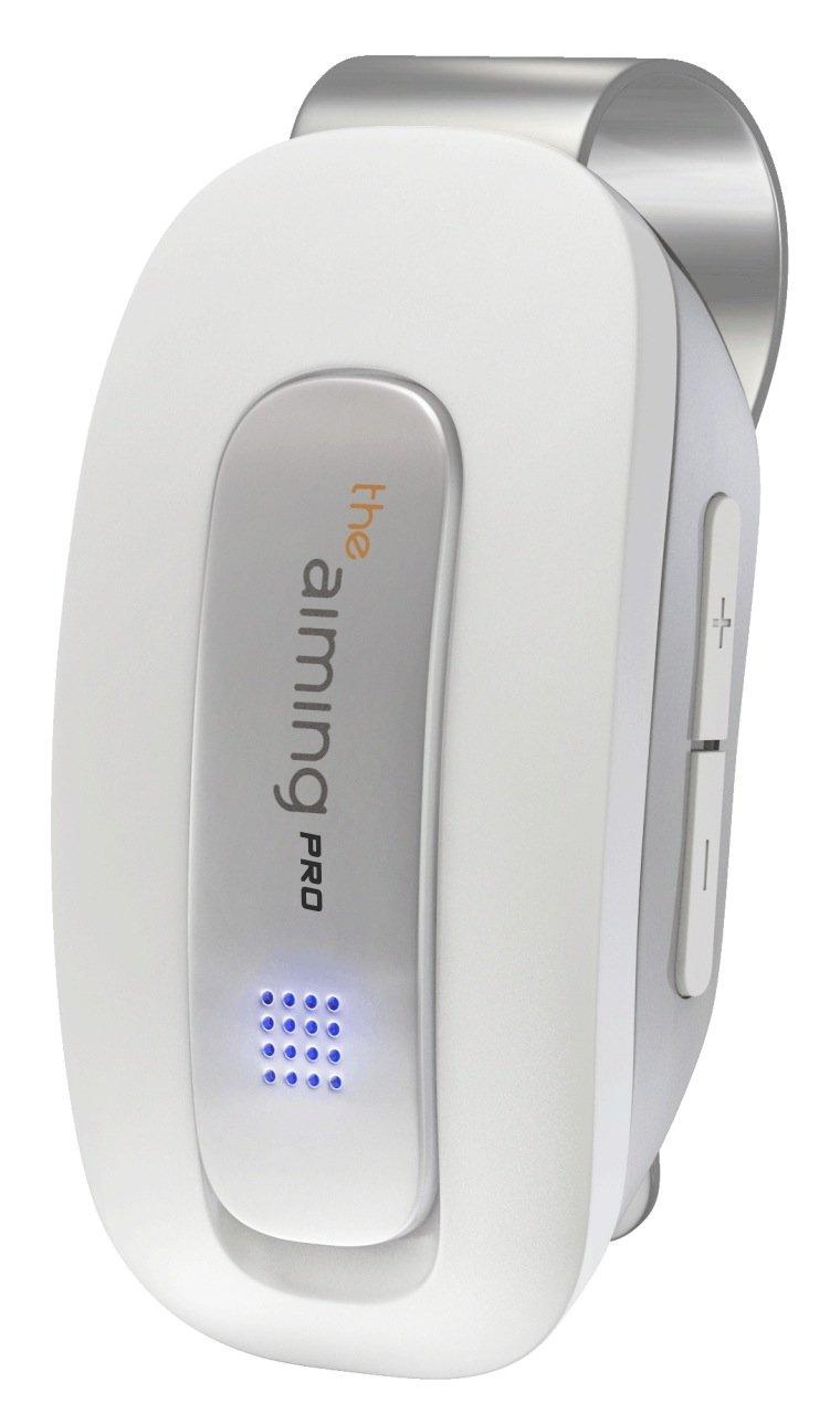 the aiming(ザエイミング) ゴルフ用アドレス方向感知センサー バイブレーション機能モデル ザエイミングプロ  ホワイト B00V87XF74