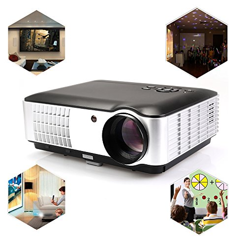 Usa free shipping flylinktech rd 806a 2800 lumens movie for Small tv projector