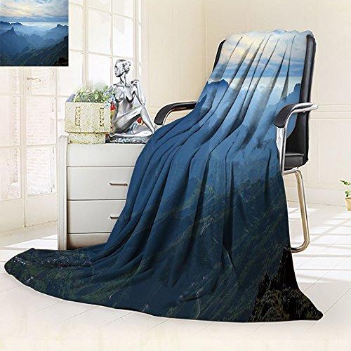 Nalahomeqq Microfiber All Season Blanket/Flannel Fleece Blanket/Luxury Blanket/Heavy Warm Blanket-Wrinkle and Fade Resistant Hypoallergenic Fleece Blanket-43 x 60