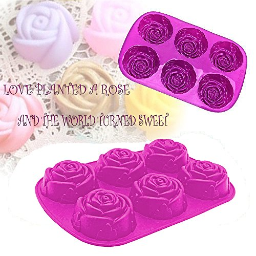 4d Adult Football (Silicone Cake Baking Moulds,DiDaDi 6 Cavity Rose Shape Thanksgiving Silicone Mold, Chocolate Sugarcraft Decorating Fondant Tool, Soap Mold, Bakeware)