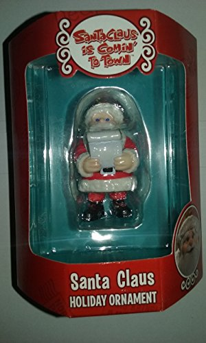 Santa Claus Is Coming To Town Hanging Ornament