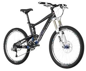 Diamondback Mission 26-Inch Wheeled 2 All Mountain Full Suspension Mountain Bike (Gloss Black, Small/15-Inch)