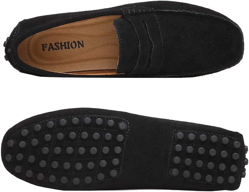 Yaer Classic Scarpe da Uomo Mocassini Slip On Penny Loafers Scarpe da Guida