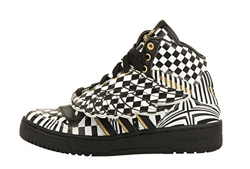 Zapatillas De Deporte Adidas Jeremy Scott Js Wings Opart Hi Top G95768 Zapatillas Negro