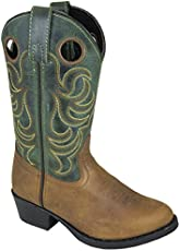 fea5c29051a UPC 012200001084 Smoky Mountain Brown Green Leather Square Toe ...