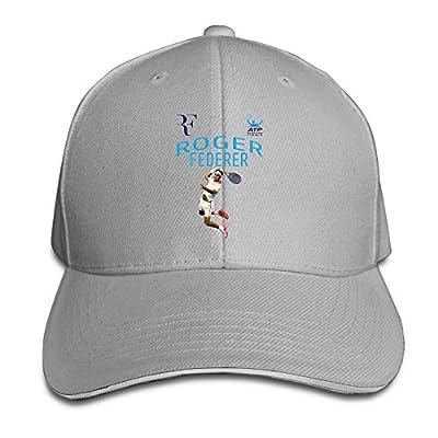 Karoda Roger Federer Sandwich Hunting Peak Hat & Baseball Cap