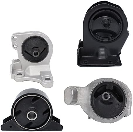 Engine Motor and Trans Mount Set of 4 for 1999-2005 Mitsubishi Dodge Stratus Coupe 2.4L Automatic Trans A6699 A4621 A4612 A4602