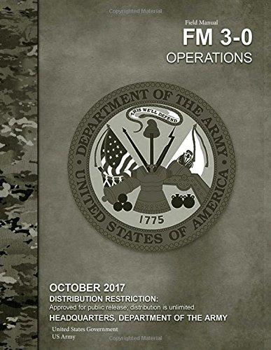 Fm 3-0 operations 2017 mini size $11. 95: my army.