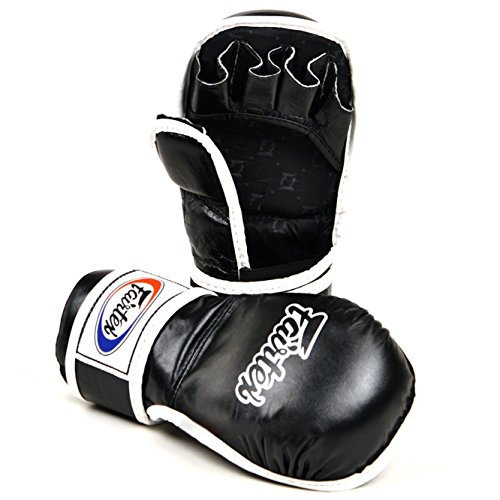 Fairtex MMA Gloves Ultimate Combat Gloves - FGV15 - BLACK (MEDIUM)