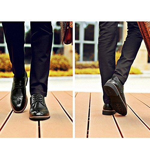 Salida Merryhe Hombres Tallan Cordón Ups Tilden Derbys Van Caballero Cuero Genuino Oxford Negocios Zapato Traje Zapatos Gruesos Zapatos Formales Para La Fiesta De La Noche De Bodas Masculino Del Funcionamiento De Los Hombres Negro Outlet Eastbay maoRzhQyWs