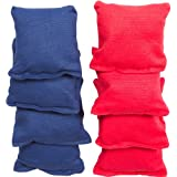 Tailgate 360 Small Sized Bean Bag, Red and Blue,