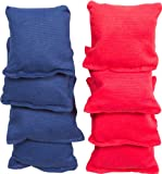 Small Sized Bean Bags - 3.5'' x 3.5'' By Tailgate360 (Red and Blue)