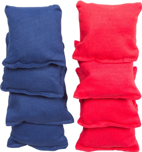 Small Sized Bean Bags - 3.5'' x 3.5'' By Tailgate360 (Red and Blue) by Tailgate 360