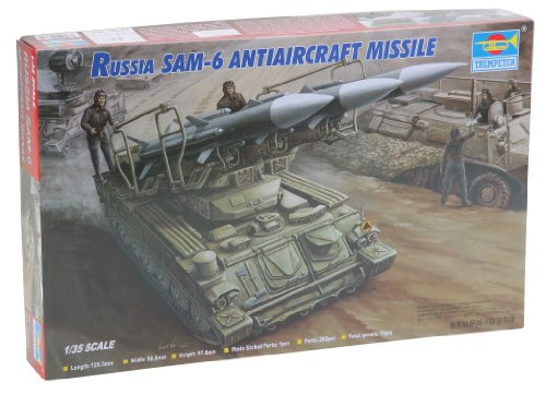 Trumpeter 1/35 Russian SAM6 Anti-Aircraft Missile with Launcher