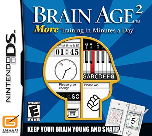 Brain Age 2: More Training in Minutes a (Electronic Brain Games)