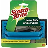 scotch brite steel scrubber - Scotch-Brite Heavy Duty Grill Scrubber, 5.8 in. x 3.5 in, 1/Pack
