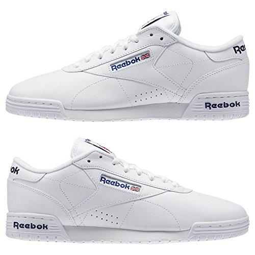 Reebok Mænds Ex-o-fit Lo Ren Logo Sneaker Hvid tTjTNsve