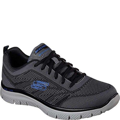 Zapatillas Skechers Flex Advantage Fator Hombres Charcoal / Black