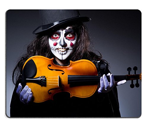 [Liili Mouse Pad Natural Rubber Mousepad IMAGE ID: 22581347 Monster playing violin in dark room] (Danger Mouse Halloween Costume)