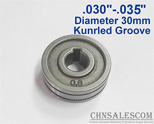 CHNsalescom 0.8-0.9 Kunrled-Groove Mig Welder Wire Feed Drive Roller Roll .030'-.035'
