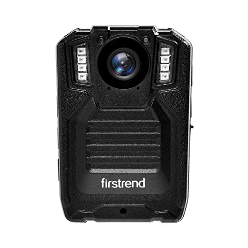 [2018 Newest] Firstrend 1296P HD Body Camera, Portable Police Body Camera with 32GB Memory, Night Vision and IP67 Weatherproof by Firstrend