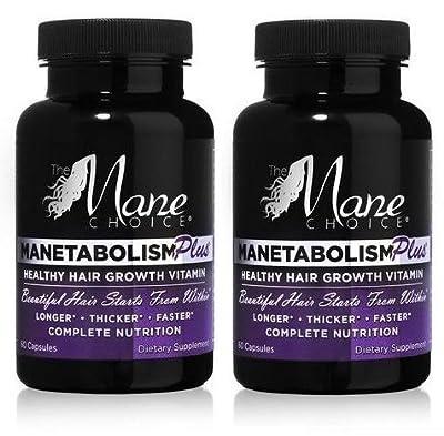 Manetabolism Plus Hair Growth Vitamins (2) by Manetabolism