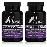Manetabolism Plus Hair Growth Vitamins (2) by Manetabolism