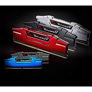G.SKILL F4-2133C15D-8GVR Ripjaws V Series 8GB (2 x 4GB) 288-PinDDR4-2133MHz, Crimson Red