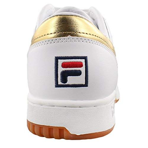 Fila Original Fitness Bas Blanc Et Or
