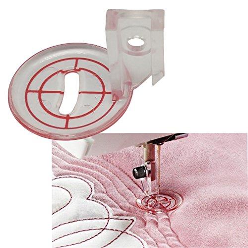 HONEYSEW Pressure Foot Free Motion Echo Quilt Foot for Viking #413320245 (Husqvarna Viking Quilt)