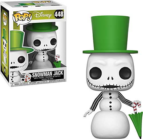 Funko Pop Disney: Nightmare Before Christmas - Snowman Jack Skellington Collectible Figure, Multicolor (Christmas Disney Nightmare Before The)