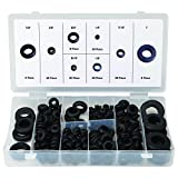 Cacys Store - 180pcs Rubber Grommets Kit Multi Size protect Plug Wire Ring Assortment Fastener Electrical Gasket Tools Kit Set