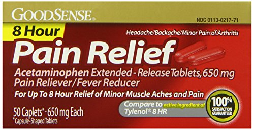 GoodSense Acetaminophen Pain Reliever/Fever Reducer Extended