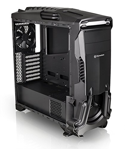 Thermaltake Versa N24 Black ATX Mid Tower Gaming Computer Case Chassis with Power Supply Cover, 120mm Rear Fan preinstalled. CA-1G1-00M1WN-00 by Thermaltake (Image #12)