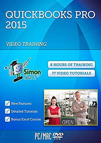 QuickBooks Pro 2015 Video Training Course for Beginners (Microsoft Office Course)
