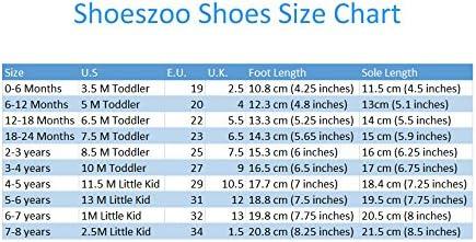 Carozoo T-Rex Chaussures en cuir souple pour b/éb/é et enfant Marron