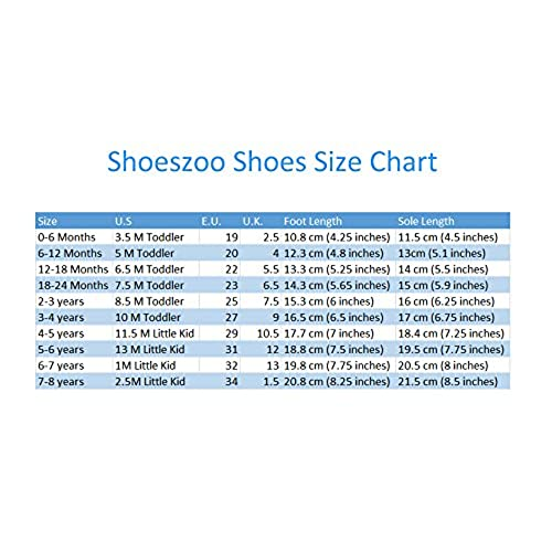 carozoo Eiffel tower star 3-4y soft sole leather toddler shoes slippers