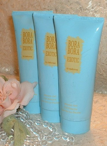 - 3- BORA BORA EXOTIC - Liz Claiborne - 3.3 oz / 100ml - Perfume d SHOWER GEL S