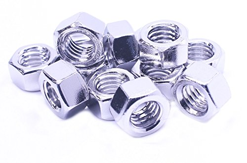 FOREVERBOLT FBHEXN789P5 Hex Nut, 7/8''-9, 18-8 SS, Finish NL-19, PK5 by FOREVERBOLT (Image #2)