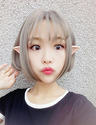 Elf Ears, Soft Latex Fairy Pixie Elf Ears Cosplay Masquerade Party Accessories LARP Halloween Party Pointed Prosthetic Tips Ear ( 1 Pair ) (Best Tasteless Halloween Costumes)
