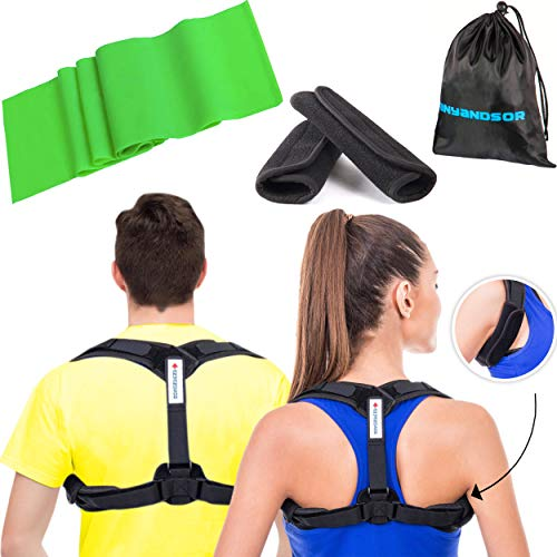 Posture Corrector for Women and Men-Body Welness Posture Corrector for Improved Posture (One Size)