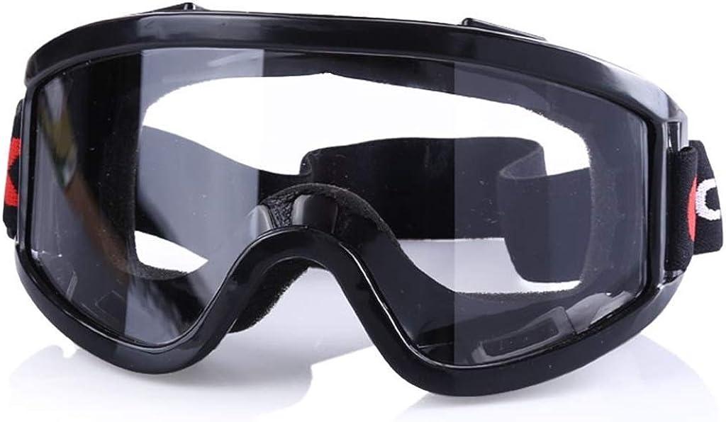 Hörsein Gafas de protección de Virus, Gafas Protectoras de ventilación, Anti-vaho y Vasos de Impacto, a Prueba de Polvo y Gafas a Prueba de Arena, Gafas a Prueba de Salpicaduras de Laboratorio,