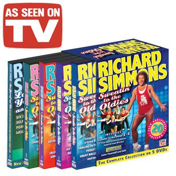 Richard Simmons DVD Set - As Seen On TV by As Seen On TV