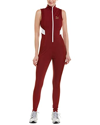 Amazon.com  PUMA Women s Retro Rib Overall Jumpsuit  Clothing d61e39bcc
