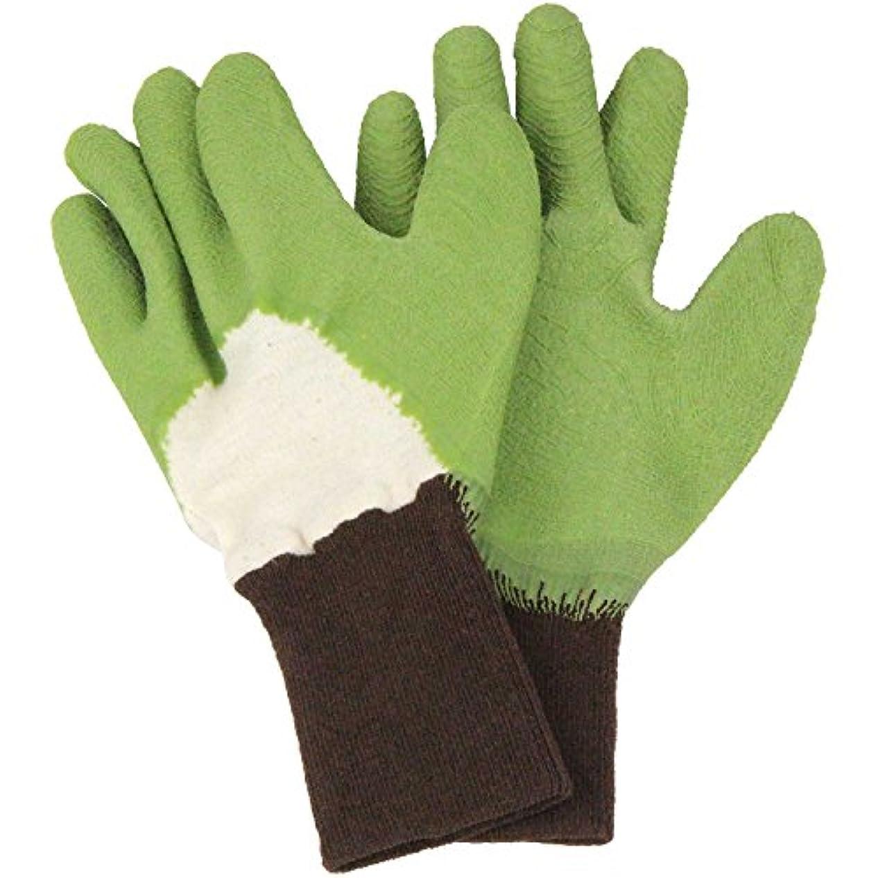 献身シーボードパトロンセフティー3 トゲがささりにくい手袋 グリーン M