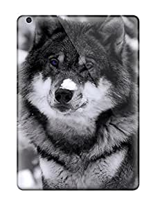 High Quality Wolf In The Snow Case For Ipad Air / Perfect Case