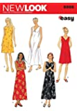 New Look Sewing Pattern 6866 - Misses Dresses Sizes: A (S,M,L,XL)