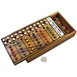 Handmade Mastermind Wooden Brain Teaser Game, Products From Thailand.