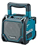 MAKITA Rechargeable Bluetooth Speaker (USB Memory Compatible / with Liquid Crystal Panel) MR202 (BLUE)【Japan Domestic Genuine Products】 【Ships from Japan】